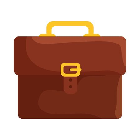 portfolio briefcase handle isolated icon vector illustration design 일러스트