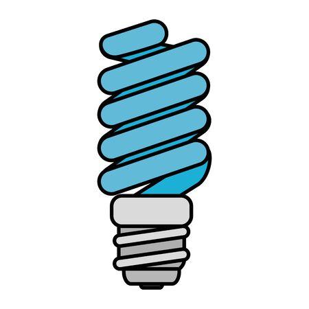 saver bulb energy icon vector illustration design Illustration