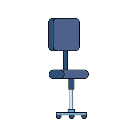 office chair equipment isolated icon vector illustration design Banque d'images - 128360954