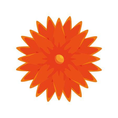 ramadan kareem flower decorative icon vector illustration design Illustration