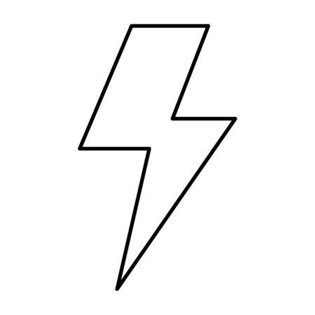 ray power isolated icon vector illustration design Ilustração