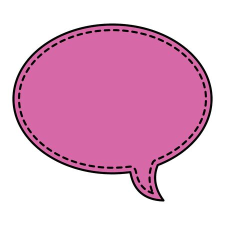 cute speech bubble message icon vector illustration design 일러스트