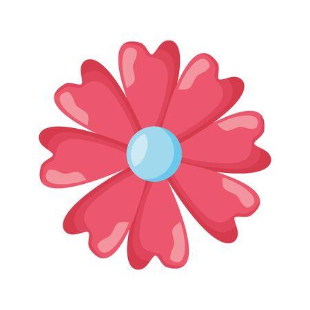 delicate flower decoration floral vector illustration design Ilustração