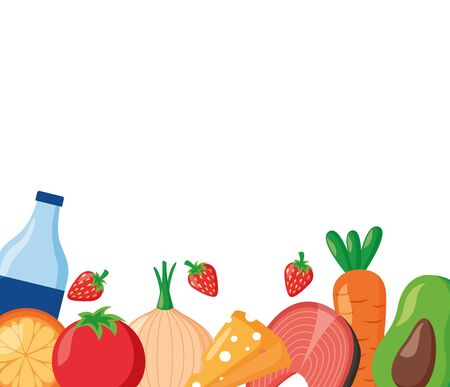 food water fresh world health day background vector illustration