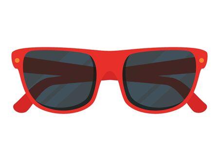 summer sunglasses accessory isolated icon vector illustration design Иллюстрация