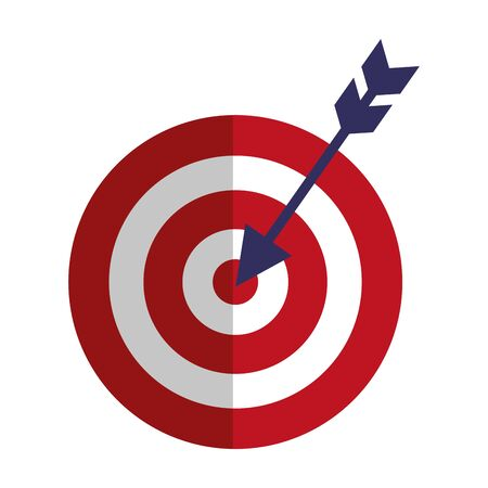 target arrow success isolated icon vector illustration design