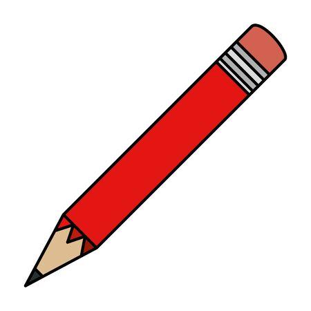 pencil school supply isolated icon vector illustration design Illusztráció