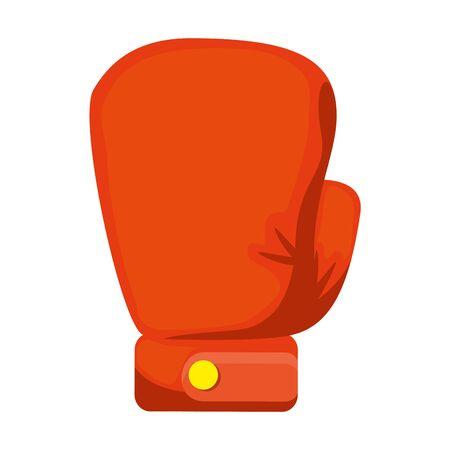 Gant de boxe vecteur icône isolé illustration design