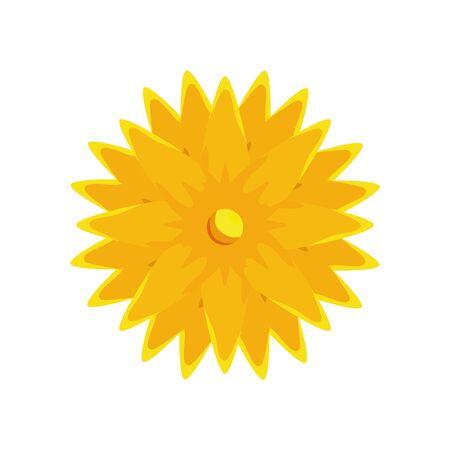 ramadan kareem flower decorative icon vector illustration design Illusztráció