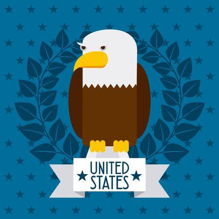 united states design, vector illustration  graphic