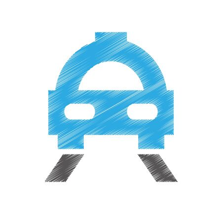 taxi car service isolated icon vector illustration design Standard-Bild - 129237834