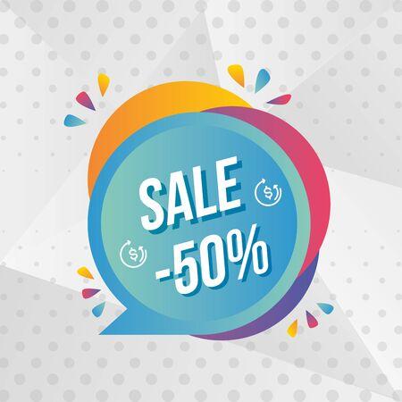 super sale off banner special vector illustration Stock Vector - 129252131