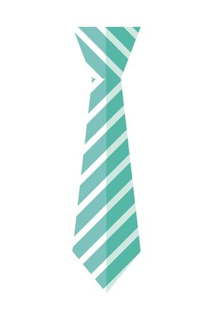 tie accessory for men vector illustration design