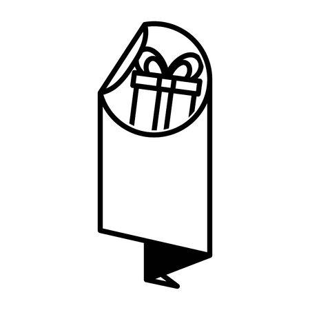 sale banner peel off paper sticker vector illustration 写真素材 - 129833816