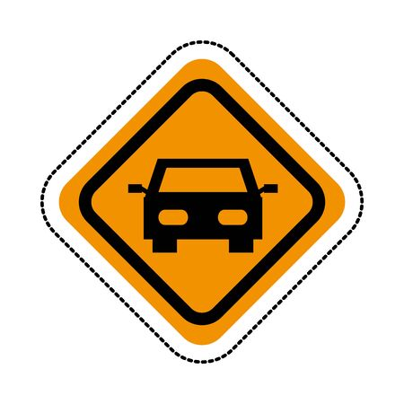 car auto vehicle isolated icon vector illustration design