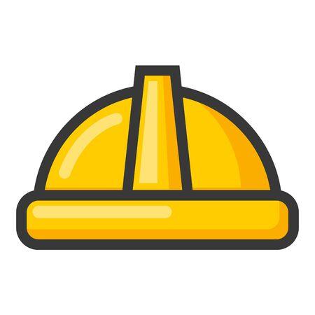 happy labour day helmet tool vector illustration