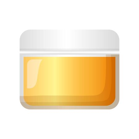 cosmetic skin care container vector illustration design