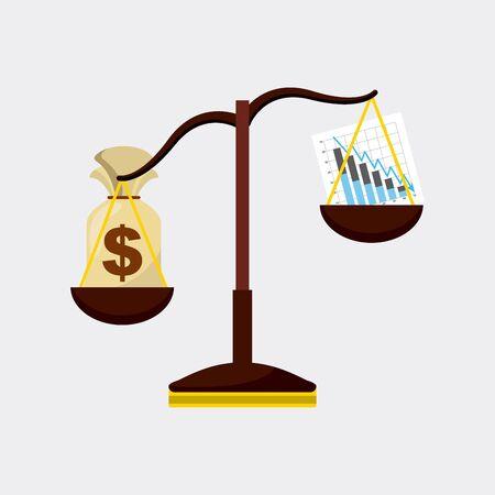 stock exchange design, vector illustration eps10 graphic Иллюстрация