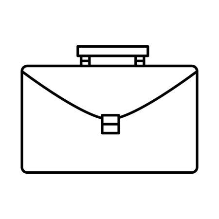 portfolio briefcase isolated icon vector illustration design Иллюстрация