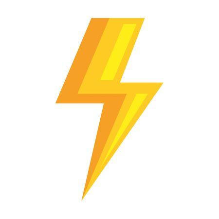 ray power isolated icon vector illustration design Stok Fotoğraf - 129482505