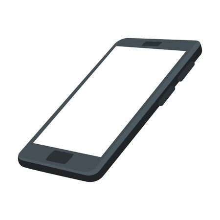 appareil smartphone isolé icône vector illustration design