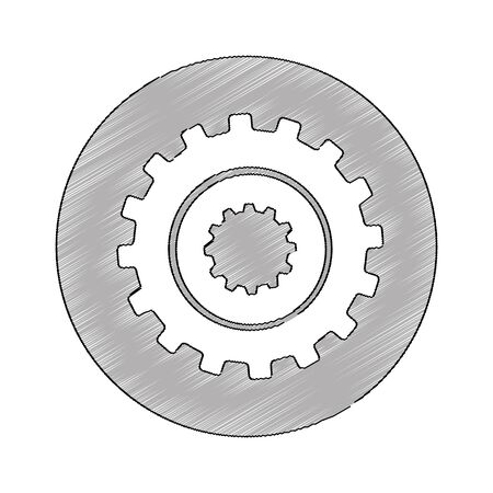 gears machine isolated icon vector illustration design Zdjęcie Seryjne - 129429554