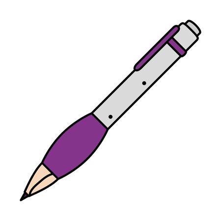 pen write ink icon vector illustration design