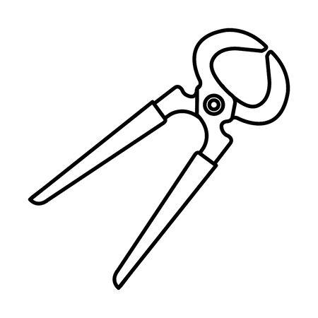 cut tiles tool icon vector illustration design