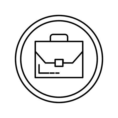 portfolio briefcase isolated icon vector illustration design Фото со стока - 129375406
