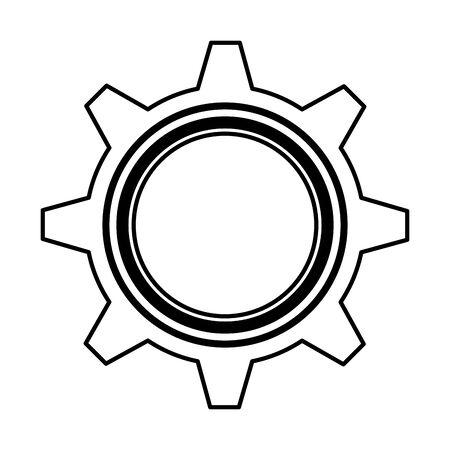 gear settings isolated icon vector illustration design Stock fotó - 129483218