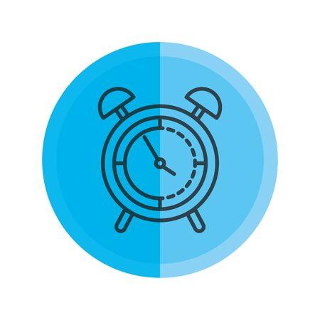alarm clock isolated icon vector illustration design Фото со стока - 129484508