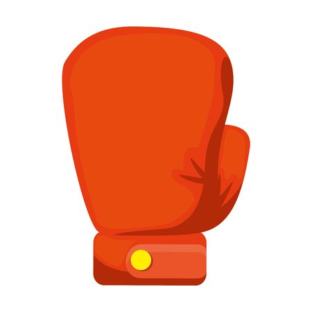 boxing glove isolated icon vector illustration design Stock Illustratie