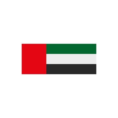 Arabia Saudita icono de la bandera del país, diseño de ilustraciones vectoriales