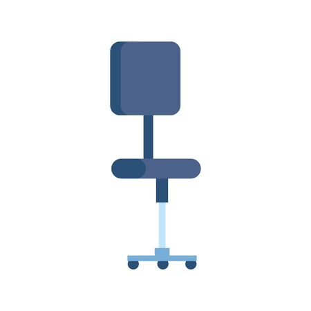office chair equipment isolated icon vector illustration design 일러스트