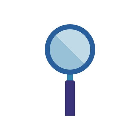 search magnifying glass isolated icon vector illustration design Ilustração