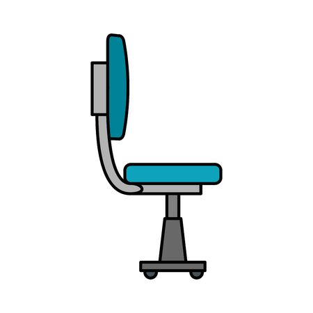office chair equipment isolated icon vector illustration design Banque d'images - 129499422