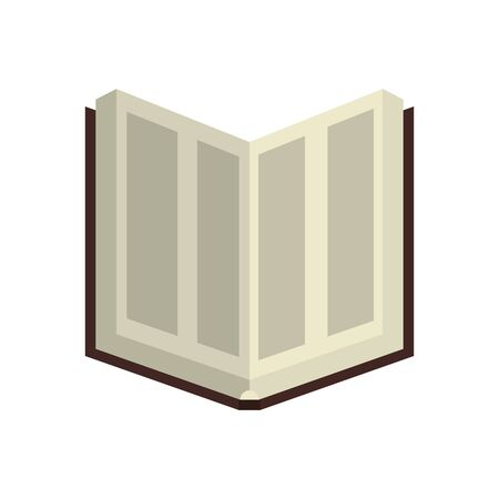 koran book religious isolated icon vector illustration design