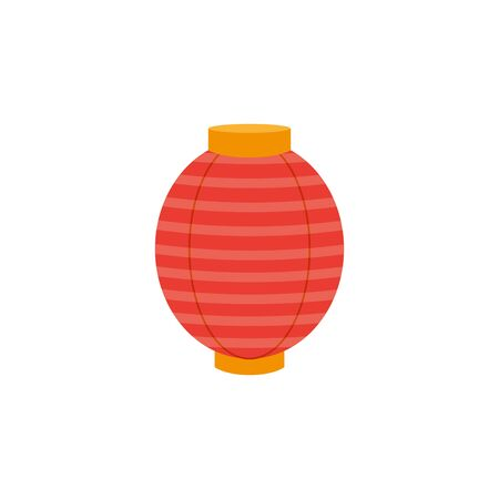 chinese decorative lamp hanging icon vector illustration design 向量圖像