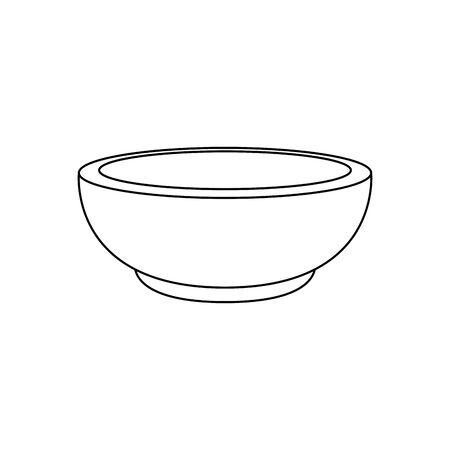 dish golden religious isolated icon vector illustration design 向量圖像