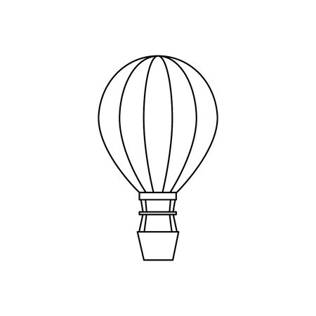 balloon air hot flying icon vector illustration design Фото со стока - 129501794
