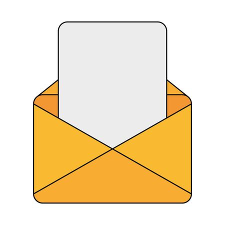Envelope design, Email mail message letter marketing communication card and document theme Vector illustration Иллюстрация
