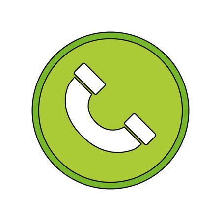 Social media and multimedia button, App communication and digital marketing theme Vector illustration Ilustração