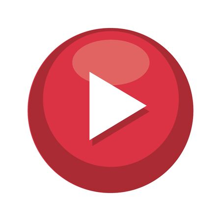 media player button icon vector illustration design Banque d'images - 129500210