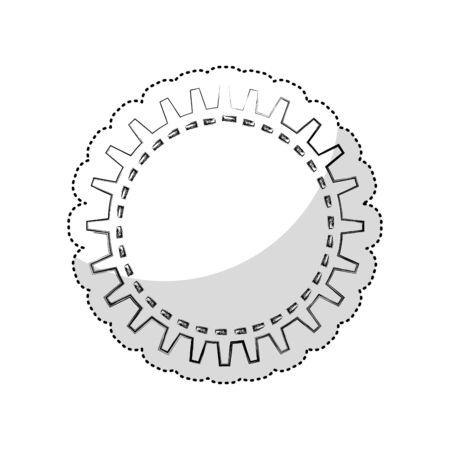 gears machine isolated icon vector illustration design Zdjęcie Seryjne - 129499962
