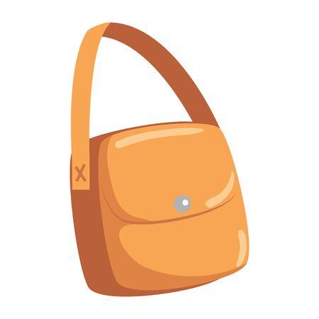 female handbag accessory isolated icon vector illustration design Illustration
