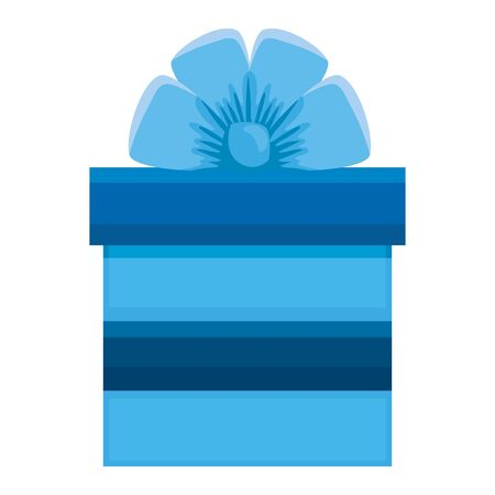 gift box present isolated icon vector illustration design Stock Illustratie