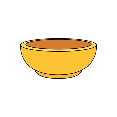 dish golden religious isolated icon vector illustration design 向量圖像