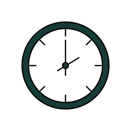 time clock watch isolated icon vector illustration design Stock fotó - 129508418