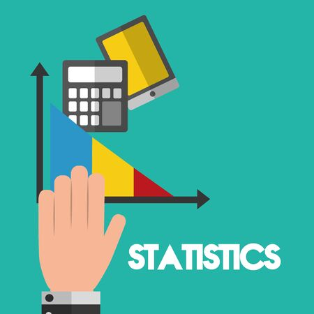 Statistics design, Infographic data information business analytics and visual presentation theme Vector illustration