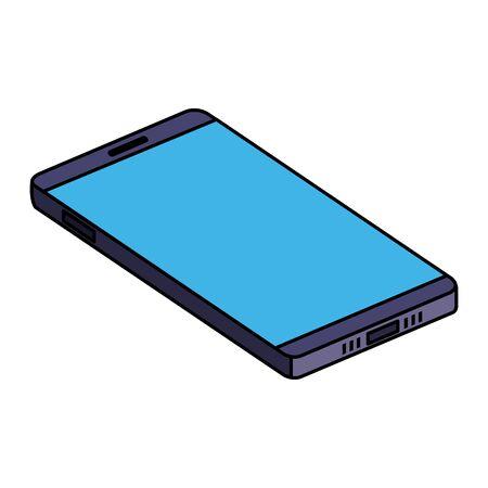 Smartphone-Gerät Technologie Symbol Vektor Illustration Design